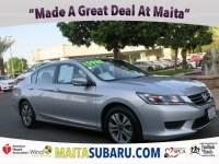 Used 2014 Honda Accord Sedan LX Available in Sacramento CA