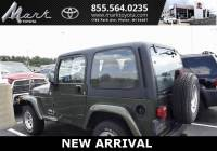 Used 2006 Jeep Wrangler X 4.0L I6 4x4 w/Factory Hardtop & Alloy Wheels SUV in Plover, WI