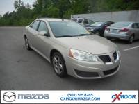 Pre-Owned 2009 Pontiac G6 Value Leader FWD 4D Sedan