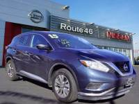 Certified Used 2015 Nissan Murano S SUV in Totowa