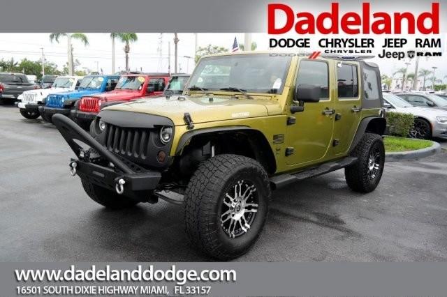 Photo Used 2007 Jeep Wrangler Unlimited sport SUV in Miami