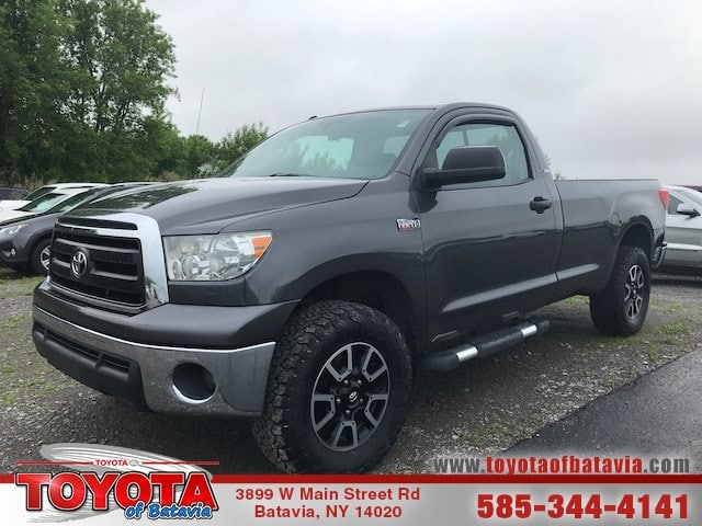 Photo Used 2012 Toyota Tundra 5.7L V8 Regular Cab Long Bed 4x4 Truck Regular Cab 4x4 Near Medina