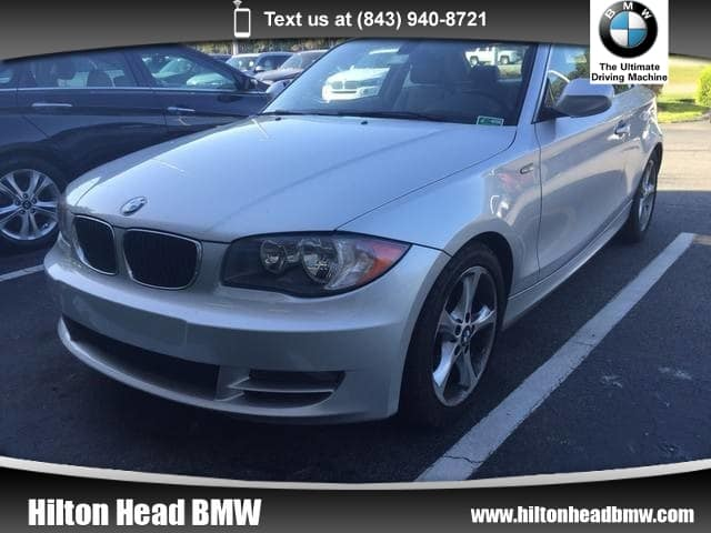 Photo 2011 BMW 1 Series 128i  Local Trade In  Moonroof  Power Seats  S Coupe Rear-wheel Drive