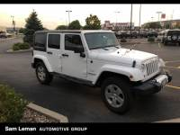 Used 2011 Jeep Wrangler Unlimited Sahara SUV in Bloomington, IL