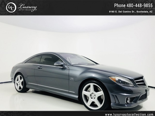 Photo 2008 Mercedes-Benz CL-Class CL 65 AMG CL65 AMG  Distronic  Parkronic  Navi  Htd  Cooled Seats  09 10 Rear Wheel Drive Coupe