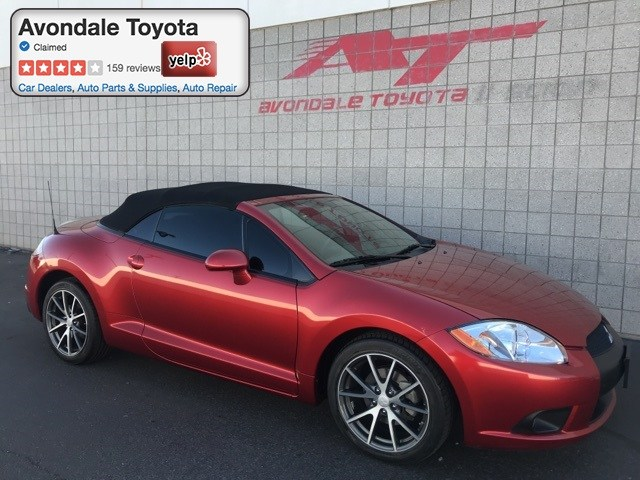 Photo Pre-Owned 2012 Mitsubishi Eclipse Spyder Convertible Front-wheel Drive in Avondale, AZ