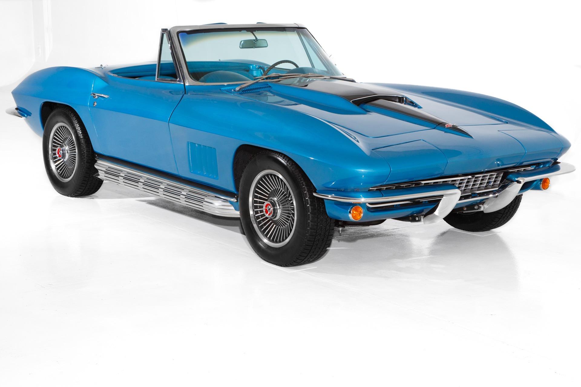 Photo 1967 Chevrolet Corvette Marina Blue 327350 4-Spd