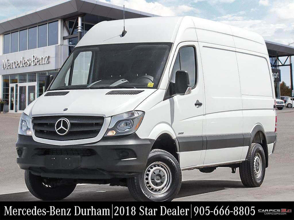 Photo Certified Pre-Owned 2015 Mercedes-Benz Sprinter 4x4 2500 Cargo 144 Four Wheel Drive