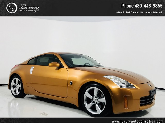 Photo 2006 Nissan 350Z Track  6-Spd  Only 59K Miles  Copper  07 08 Rear Wheel Drive Coupe