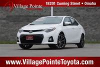 2015 Toyota Corolla S Plus Sedan FWD for sale in Omaha