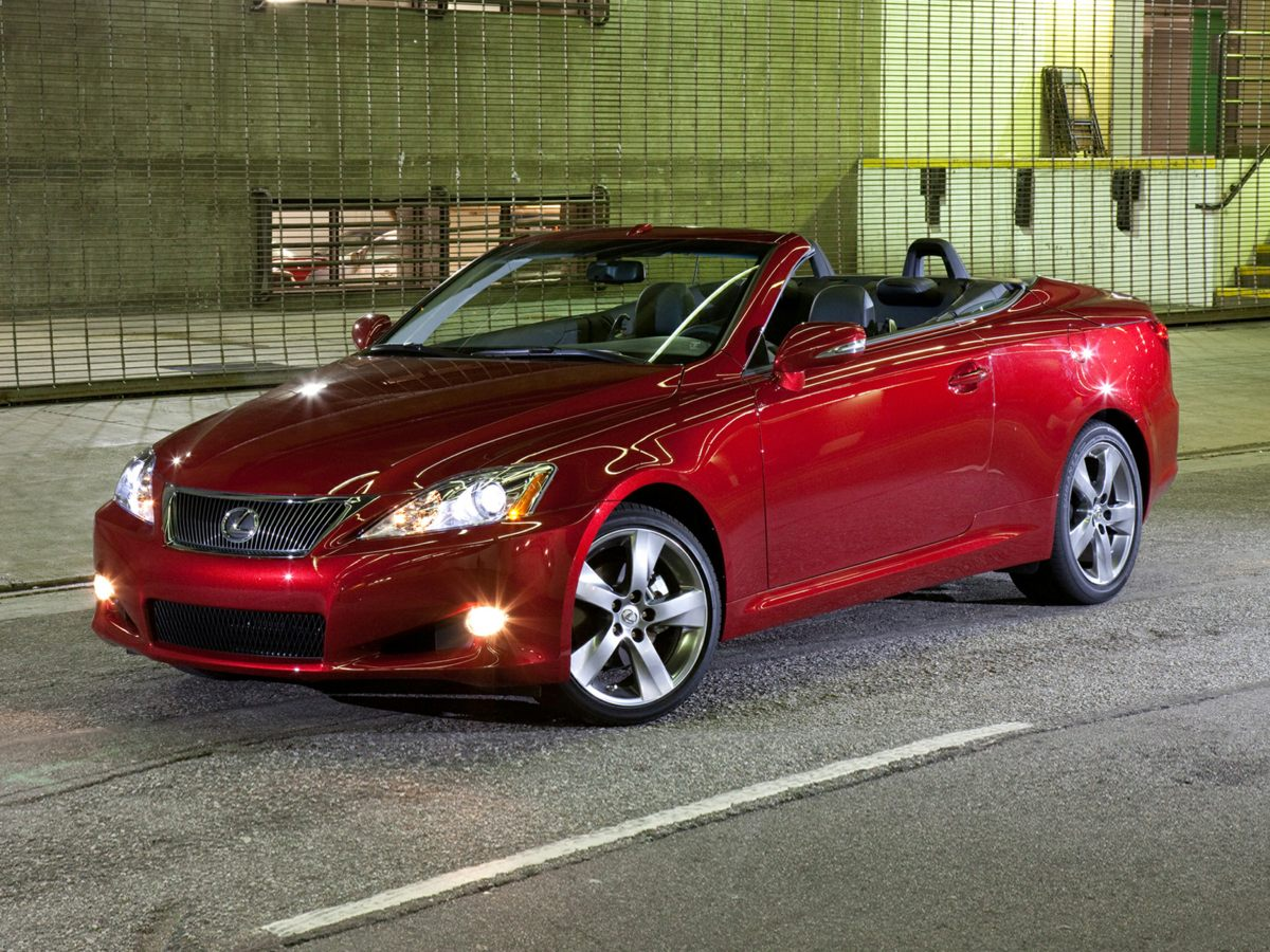 Photo Used 2010 LEXUS IS 250 C Convertible RWD For Sale in Houston