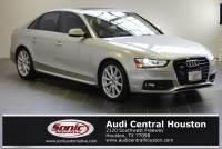 Used 2015 Audi A4 2.0T Premium (Tiptronic) Sedan in Houston, TX