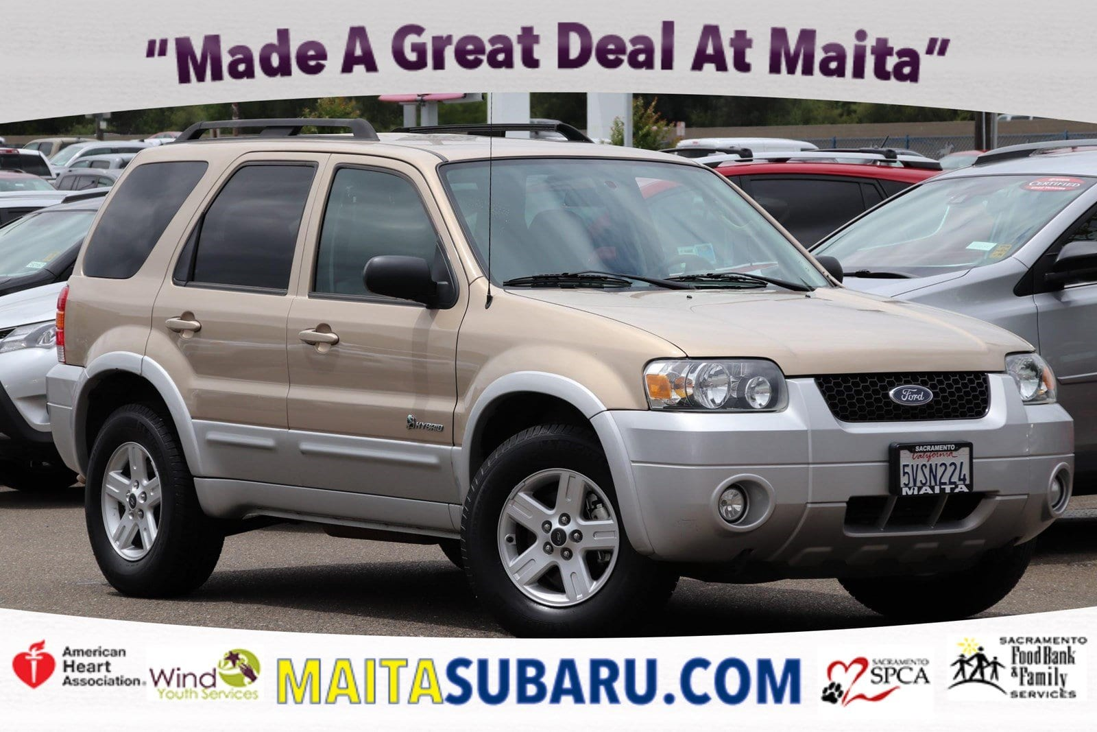 Photo Used 2007 Ford Escape Hybrid Available in Sacramento CA