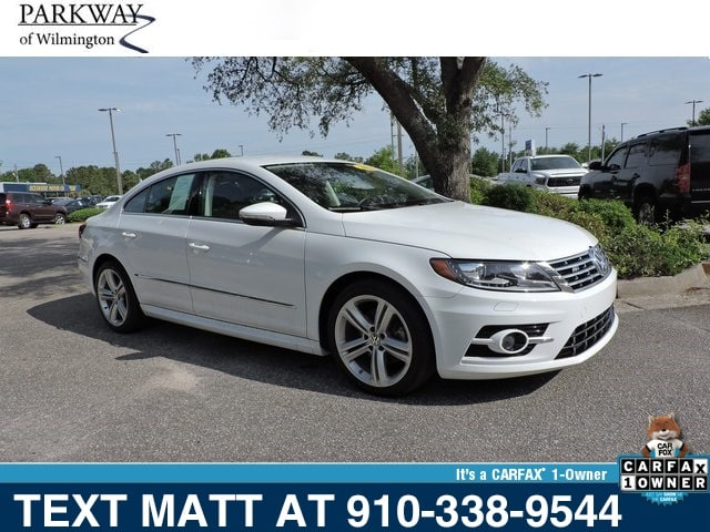 Photo Used 2016 Volkswagen CC 2.0T Sport For Sale  Wilmington NC