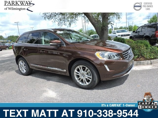 Photo Certified Used 2015 Volvo XC60 T5 Premier For Sale  Wilmington NC