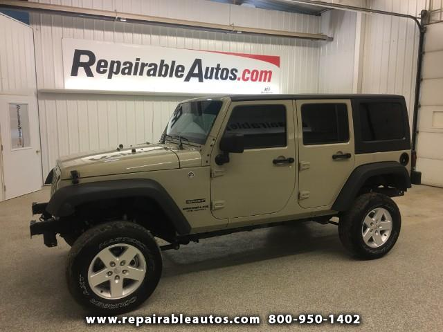 Photo 2017 Jeep Wrangler 4WD Repairable Side Damage