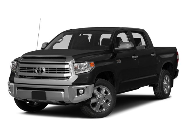 Photo Pre-Owned 2014 Toyota Tundra 4WD Truck CrewMax 5.7L FFV V8 6-Spd AT Platinum Pickup Truck