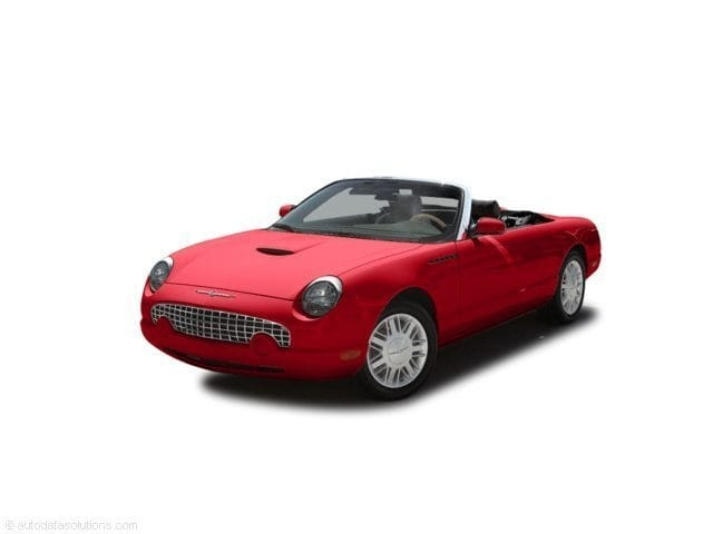 Photo Used 2004 Ford Thunderbird Base Convertible for Sale in Anaheim