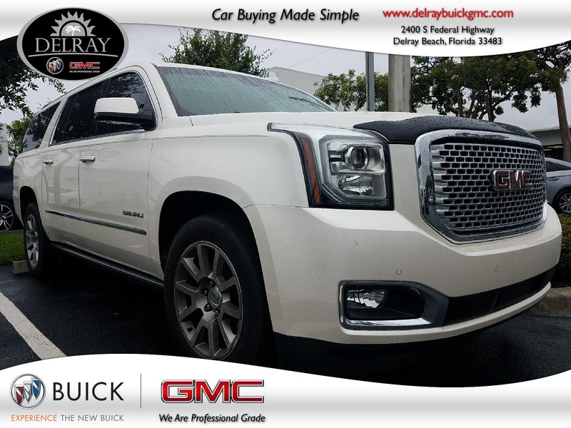 Photo Pre-Owned 2015 GMC YUKON XL DENALI Four Wheel Drive Sport Utility Vehicle