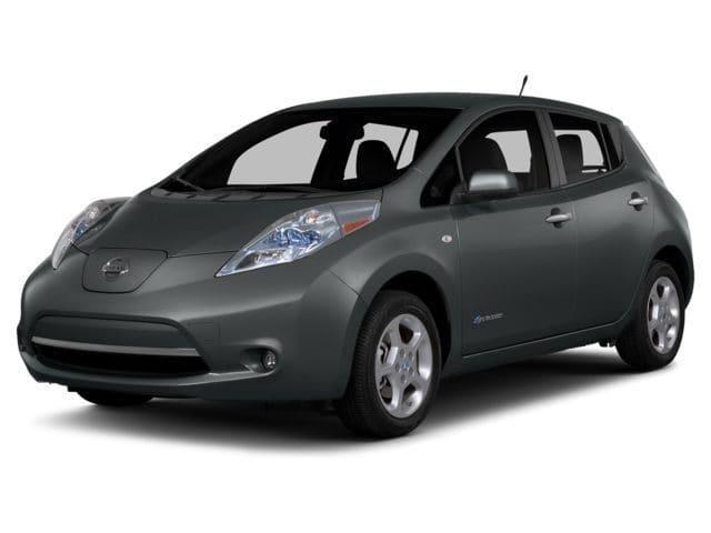 Photo Used 2015 Nissan LEAF SL Hatchback for sale in Carrollton, TX