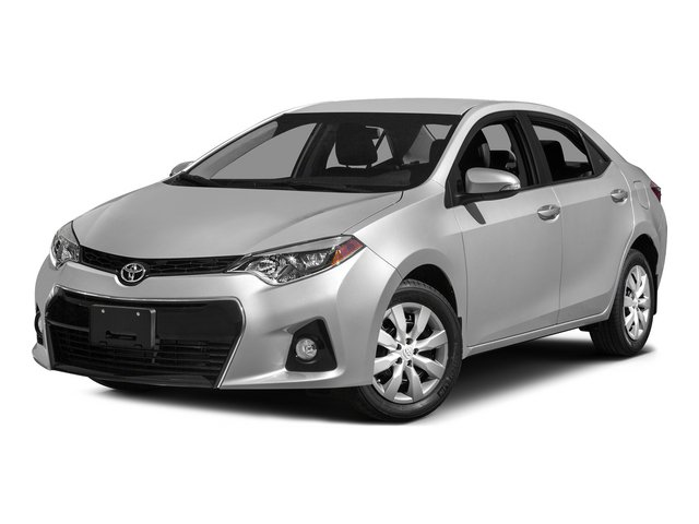 Photo Pre-Owned 2015 Toyota Corolla BLACK FWD 4dr Car