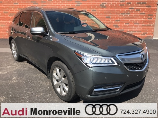 Photo Pre-Owned 2016 Acura MDX For Sale near Pittsburgh, PA  Near Greensburg, McKeesport,  Monroeville, PA  VIN5FRYD4H96GB024539