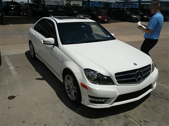 Photo 2014 Mercedes-Benz C-Class C 250 For Sale Near Fort Worth TX  DFW Used Car Dealer