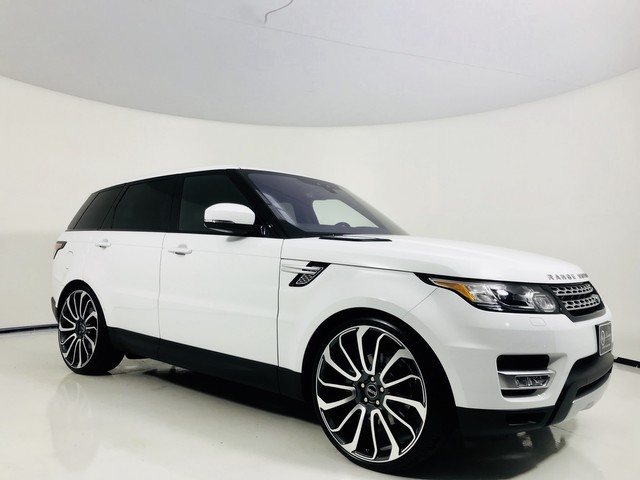 Photo 2017 Land Rover Range Rover Sport HSE HSE  Autobiography Wheels  Glass Roof  Htd Seats  18 16 With Navigation