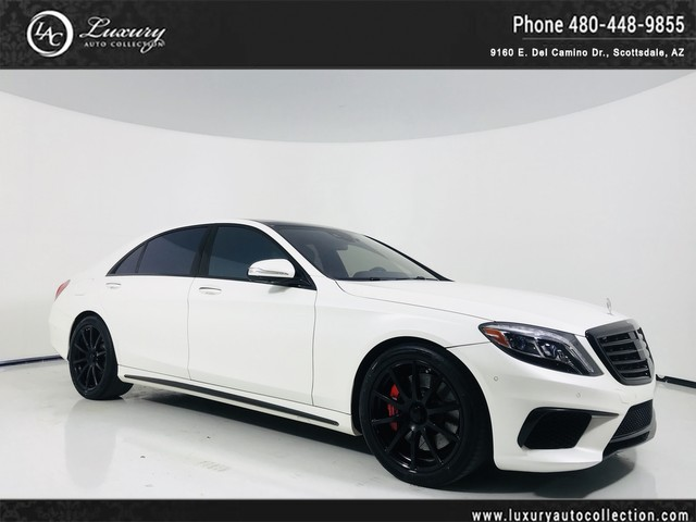 Photo 2015 Mercedes-Benz S-Class S 63 AMG S 63 AMG  Pano Roof  Distronic  Burmester Sound  16 17 All Wheel Drive 4MATIC Sedan