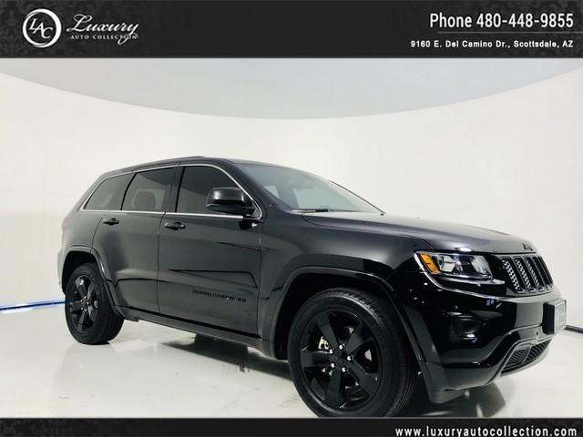 Photo 2015 Jeep Grand Cherokee Altitude Rear Camera  Park Sensors  Sunroof  Black Wheels  16 17 Rear Wheel Drive SUV