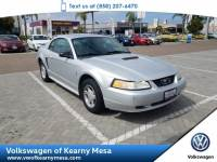 2001 Ford Mustang Standard Coupe Rear Wheel Drive