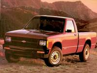 Pre-Owned 1992 Chevrolet S-10 RWD 2D Standard Cab