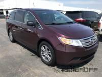 Pre-Owned 2013 Honda Odyssey EX-L w/REAR ENTERTAINMENT FWD 4D Passenger Van