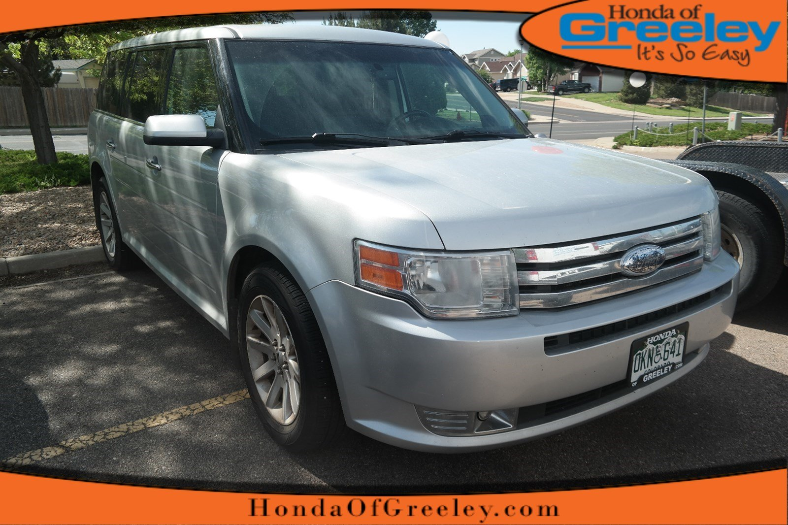 Photo Pre-Owned 2009 Ford Flex SEL All Wheel Drive Station Wagon For Sale in Greeley, Loveland, Windsor, Fort Collins, Longmont, Colorado