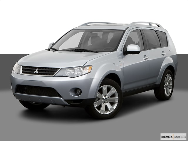 Photo Pre-Owned 2008 Mitsubishi Outlander XLS in Schaumburg, IL, Near Palatine
