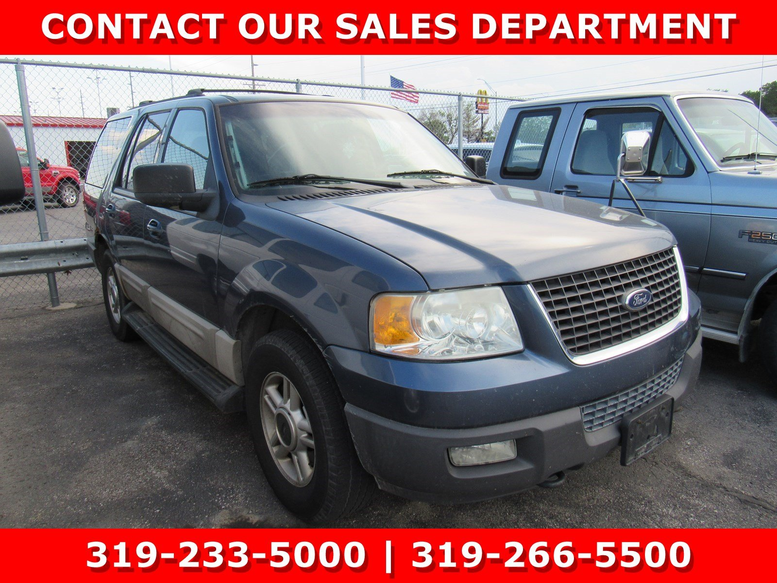 Photo Used 2003 Ford Expedition XLT FX4 Off-Road 5.4L XLT FX4 Off-Road 4WD for Sale in Waterloo IA