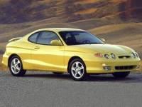 2001 Hyundai Tiburon Base Pkg Coupe Front-wheel Drive