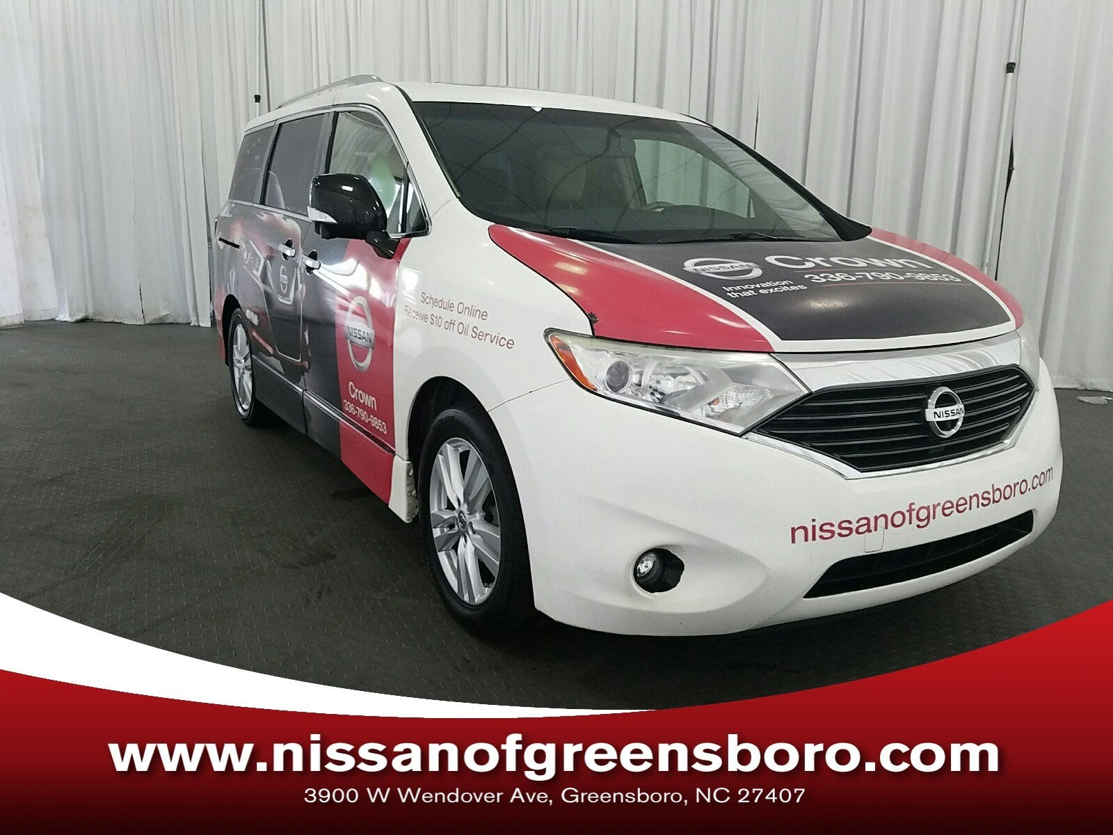Photo Pre-Owned 2014 Nissan Quest LE Van in Greensboro NC