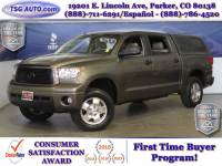 2010 Toyota Tundra 4WD Truck Limited CrewMax 5.7L V8 4WD W/Leather Topper