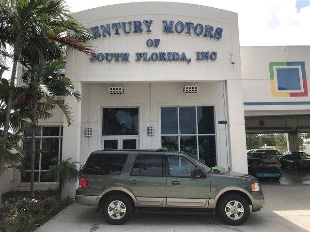 Photo 2003 Ford Expedition Eddie Bauer 4x4 1 Owner 3rd Row Sunroof 8 Pass