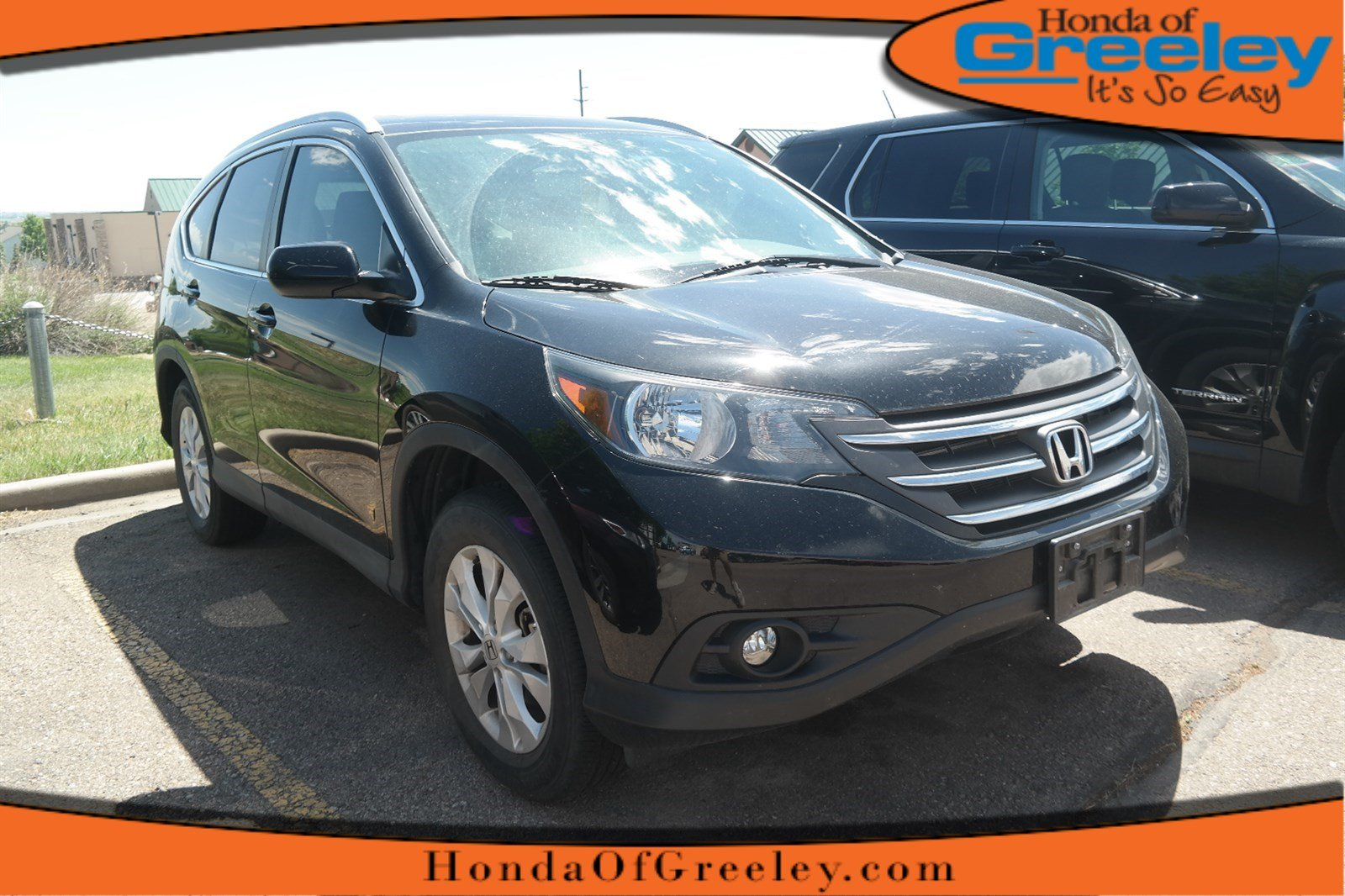 Photo Pre-Owned 2014 Honda CR-V EX-L All Wheel Drive Sport Utility For Sale in Greeley, Loveland, Windsor, Fort Collins, Longmont, Colorado