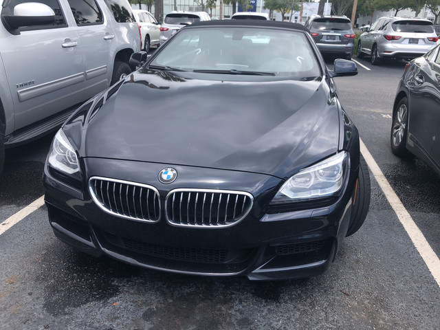 Photo Pre-Owned 2014 BMW 6 Series 640i Rear Wheel Drive Coupe