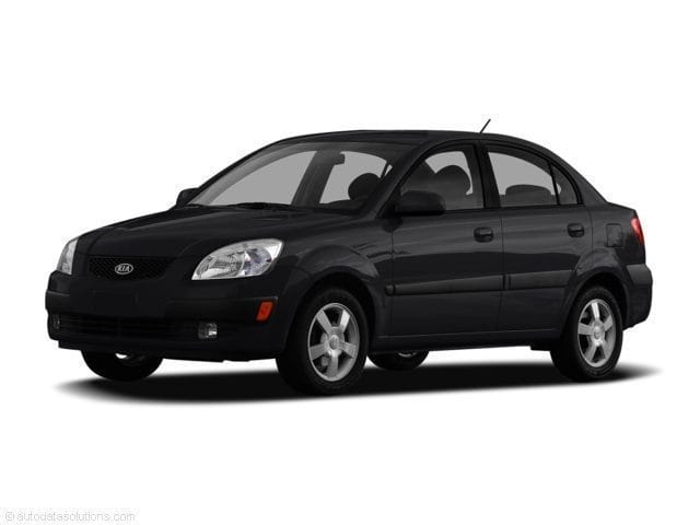 Photo 2007 Kia Rio FWD Sedan in Baytown, TX. Please call 832-262-9925 for more information.