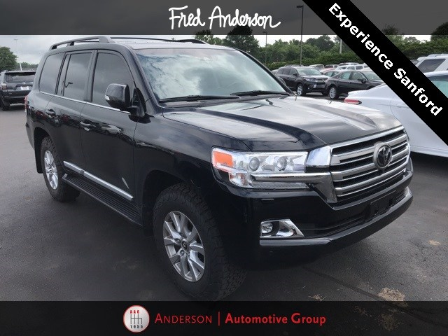 Photo Pre-Owned 2018 Toyota Land Cruiser Base SUV For Sale  Raleigh NC