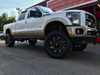 2012 Ford F-250 SD KING RANCH CREW CAB 4WD CUSTOM LIFTED DPF DELETED