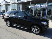 Pre-Owned 2015 Mercedes-Benz ML350 4MATIC® SUV ML