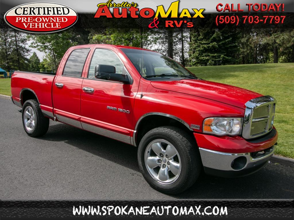 Photo 2005 Dodge Ram 1500 SLT 4x4 5.7L V8 Pickup Truck