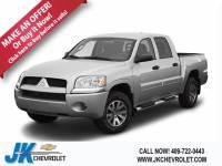 Used 2007 Mitsubishi Raider LS For Sale Nederland, TX
