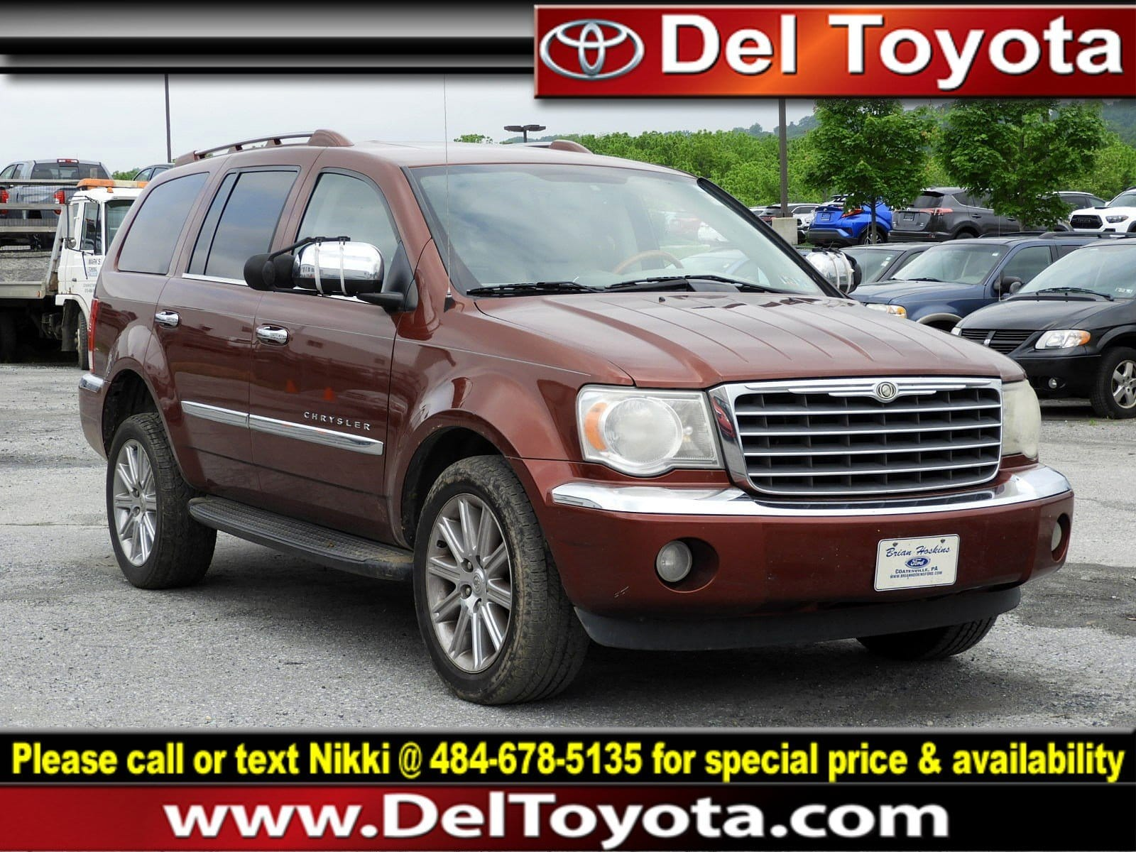 Photo Used 2007 Chrysler Aspen Limited For Sale  Serving Thorndale, West Chester, Thorndale, Coatesville, PA  VIN 1A8HX58207F541941