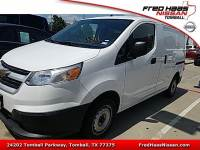 2015 Chevrolet City Express Van Front-wheel Drive 1LS